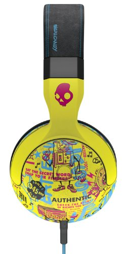 Click to buy Skullcandy Hesh 2 Headphones w/Mic Toxic Tune/ Black/Magenta, One Size - From only $199.99