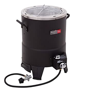 The Char-Broil Big Easy TRU-Infrared Oil-less Turkey Fryer is the stress-free way to fry your turkey. With no hot cooking oil to purchase, splatter, or dispose of, the Char-Broil Big Easy gives you a delicious, safe, and simple alternative to oil-fri...
