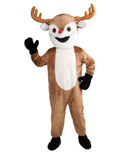 Adult-costume Reindeer Mascot Adult Costume Christmas Costume