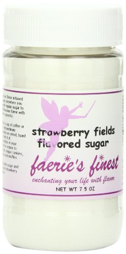 Faeries Finest Sugar, Strawberry Fields, 7.5 Ounce