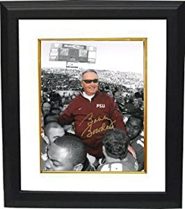 Bobby Bowden Autographed Hand Signed Florida State Seminoles 16X20 Photo Custom...