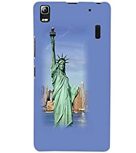 LENOVO A7000 PLUS STATUE Back Cover by PRINTSWAG