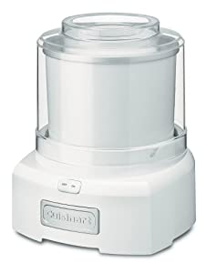 Cuisinart ICE-21C Frozen Yogurt, Ice Cream and Sorbet Maker