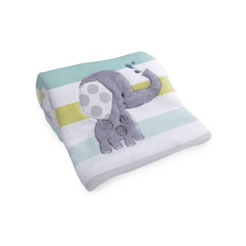 Lambs & Ivy Nursery Blanket, Yoo-Hoo