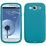Asmyna SAMSIIICASKSO059 Soft Durable Protective Case for Samsung Galaxy S3 - 1 Pack - Retail Packaging - Tropical Teal
