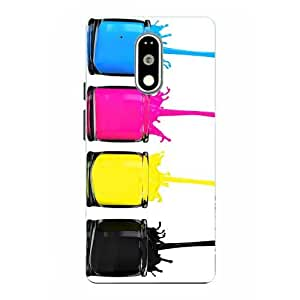 Case Cover Abstract Printed Colorful Soft Back Cover For Motorola Moto G4 Plus