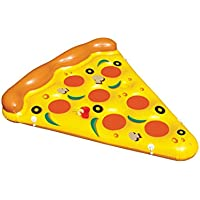 Swimline 90645 6-Foot x 5-Foot Giant Inflatable Pizza Slice
