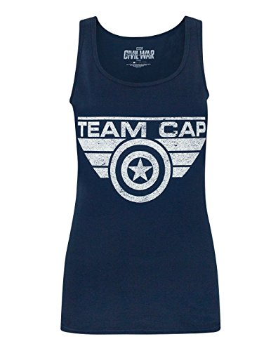 Donne - Vanilla Underground - Captain America Civil War - Tank Top (XXL)