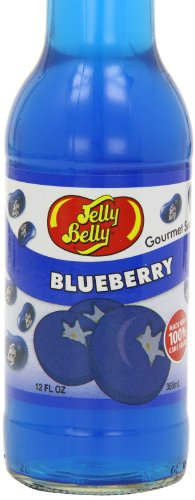 Jelly Belly Gourmet Blueberry Soda 355 ml (Pack of 6)