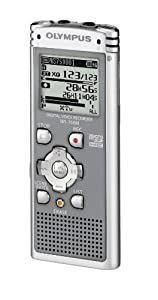 Olympus WS750 Enregistreur numérique MP3 USB 4 Go Gris