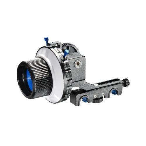 eimo Pro DSLR segue il fuoco con la corona dentata cintura per fotocamere reflex digitali e videocamere (F4 dotati di due dischi Stops)