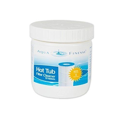 AquaFinesse Filter Cleaner - 10 Tablets (Hot Tub Spa Cleaner compare prices)