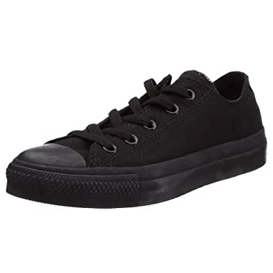 Converse Women's Chuck Taylor Core Ox Fashion Sneaker  Black Monochrome7 M US