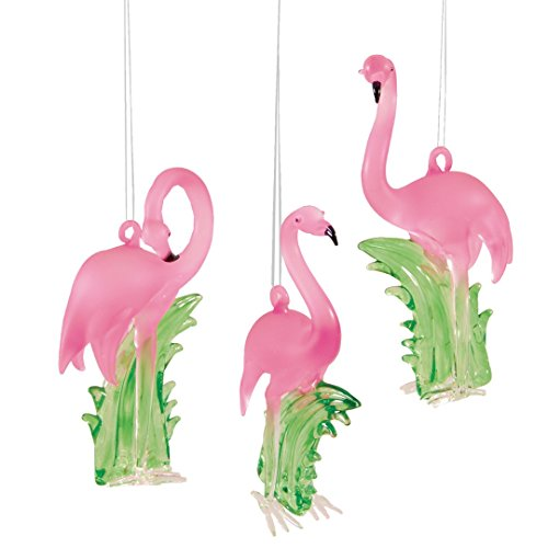 Pink-Flamingo-Glass-Hanging-Christmas-Ornament