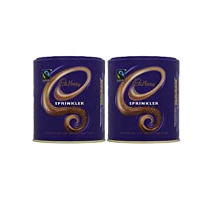 2 x 125g Fairtrade Cadbury Sprinkler