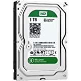 (Old Model) WD Green 1TB Desktop Hard Drive: 3.5-inch, SATA 6 Gb/s, IntelliPower, 64MB Cache WD10EZRX