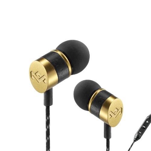 House Of Marley Em-Je033-Gn Uplift Grand In-Ear Headphones With Apple Three-Button Controller