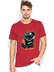Zombie Panda Red T-shirt