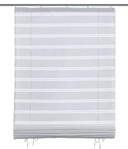 iovivo store bateau en voilage ray piree 140 x 60 cm blanc cuisine maison. Black Bedroom Furniture Sets. Home Design Ideas