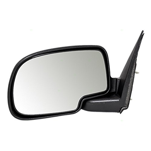 Drivers Manual Side View Mirror With Textured Cap