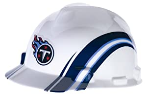 MSA Safety 10098094 NFL Tennessee Titans V-Gard Hard Hat by MSA Safety