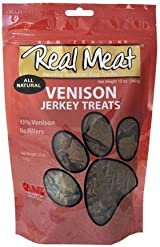 Canz REAL MEAT VENISON Jerky Dog Treats 12 oz