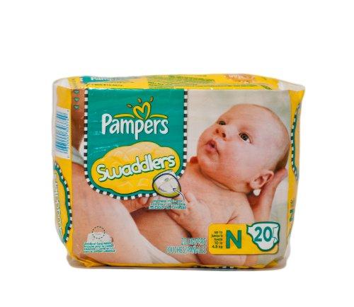 Pampers Swaddlers Newborn Diapers packs