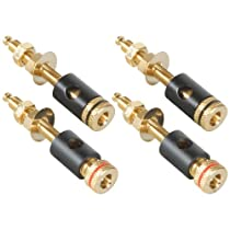 Dayton Audio BPGS-25G Binding Post with 1 Thread 2 Pair