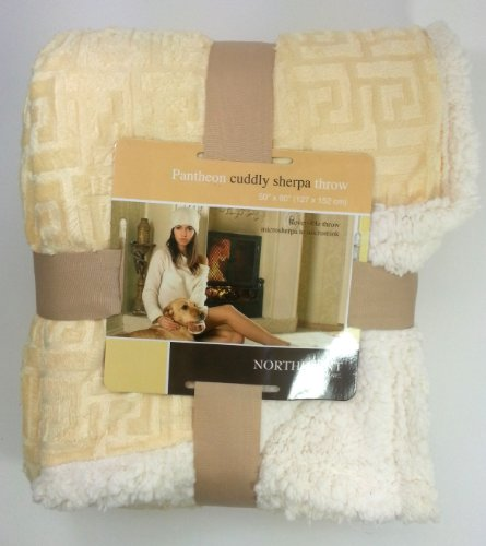 Gold Throw Blanket front-1060376