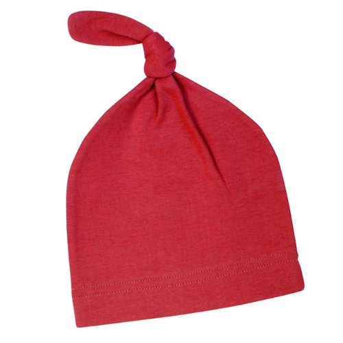 Moby Wrap Knot Hat - Red front-958936