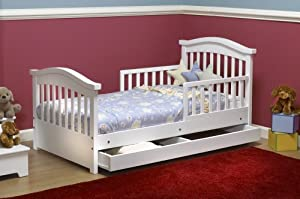 Joel Toddler Bed, White
