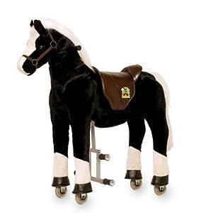 cheval a monter sur roulettes tonnerre jeux et jouets. Black Bedroom Furniture Sets. Home Design Ideas