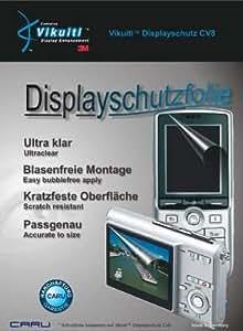 Vikuiti(TM) CV8 Displayschutz von 3M, utraklar, kratzfest bis Bleistifthärte 1-2H, 2er Pack passgenau für Nikon D70s