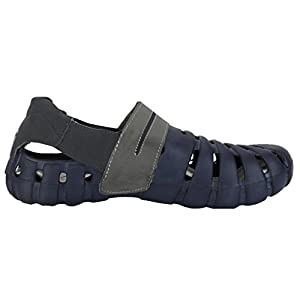 Globalite Men's Sandals Parko III Navy Grey GEC0164