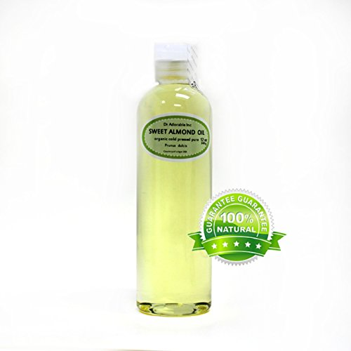 Sweet Almond Oil Organic Pure Cold Pressed by Dr.Adorable ...
