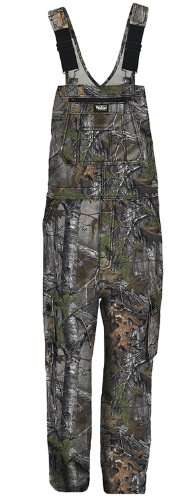 Walls Men's Legend Non-Insulated Bib Overall with Drytec Water Repellent Finish, Realtree Extra, XX-Large