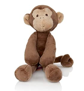 Small Monkey Soft Toy [T79-8206D-S-HFPR]
