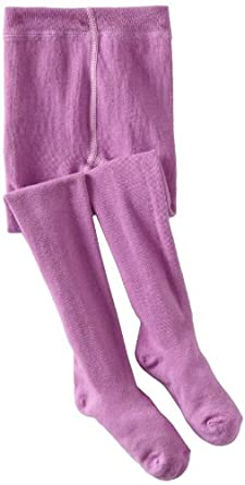 Country Kids Girl's 2-6X Organic Winter Tight, Plum, 6-8