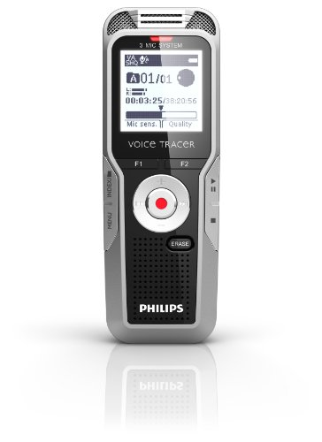 Philips Dvt7000/00 Philips Voice Tracer Digital Recorder With 360° Recording Voice Recorder