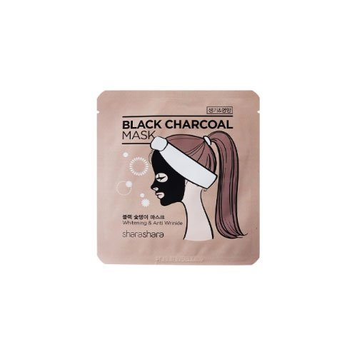シャラシャラ ブラック チャコール マスク