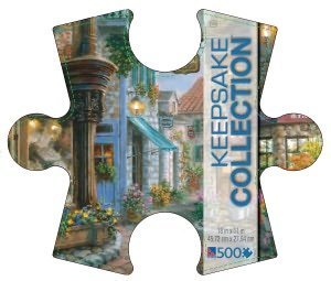 Keepsake Collection Bella Piazza 500 Piece Puzzle in Collectible Case