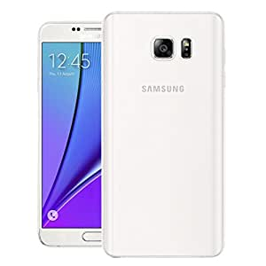Note 5 Case, Frosted Series Case CHEETAH Case Back Cover for Samsung Galaxy Note 5 (White)