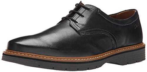 clarks-mens-newkirk-plain-oxford-black-leather-95-m-us