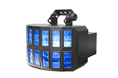 Eliminator Ledfurry High Output Rgbw Led 1W X 8 Derby