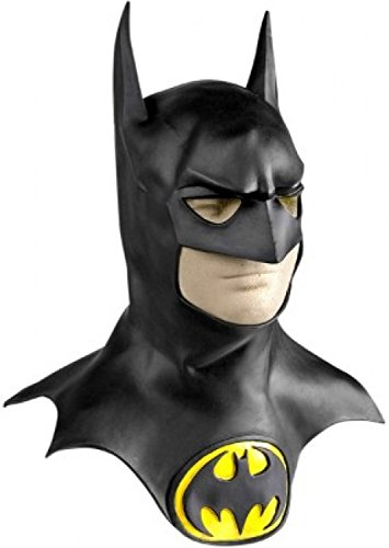 Batman Mask Collectors 1992 Edition Batman Costume Mask NEW IMPROVED BETTER FIT 3180