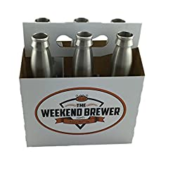 12oz Stainless Steel Beer Bottles by The Weekend Brewer (6)