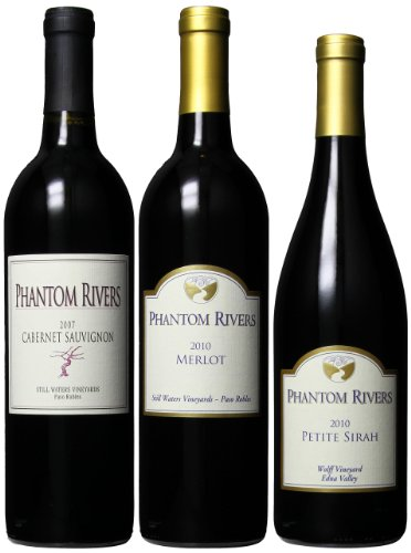 Phantom Rivers Bolder Central Coast Red Wines Mixed Pack, 3 X 750 Ml