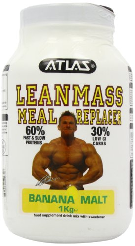 Nutrisport 1000g Atlas Lean Mass Meal Replacer Banana Malt Powder