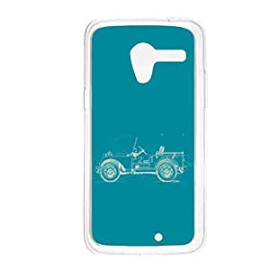 a AND b Designer Printed Mobile Back Cover / Back Case For Motorola Moto X (Moto_X_354)