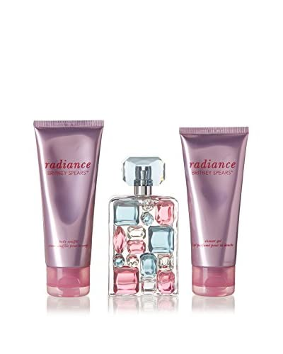 Britney Spears Set Perfume Mujer 3 Piezas Radiance (edp 50 ml + body milk 100 ml + Gel 100 ml)